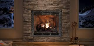 Zero Clearance Wood Burning Fireplace Insert Excellent Living Room