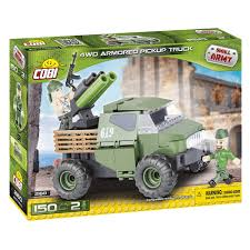 100 Armored Truck Cobi Small Army 4WD 145pcs