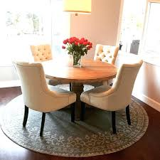 Round Table Rug Kitchen Rugs Beautiful Unusual Design Dining Room Under