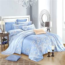 Light Blue Duvet Covers King Plain Pale Blue Single Duvet Cover