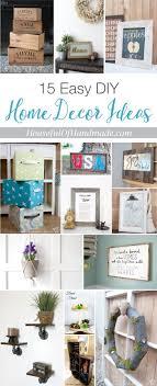 15 Easy DIY Home Decor Ideas