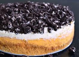 Pumpkin Layer Cheesecake by Layered Oreo Pumpkin Cheesecake Recipe Will Cook For Smiles