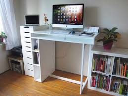 Ikea Corner Desks For Home by Desk View In Gallery Home Office L With Hutch Furniture Uk To