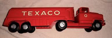100 Texaco Toy Truck Vintage 1950s Buddy L Tanker Pressed Steel 24 Long