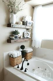 Woodsy Bathroom Decor Rustic Chic Accessories