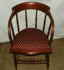 oak captains chair in chairs ebay