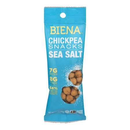 Biena Chickpea Snacks, Sea Salt - 1.2 oz
