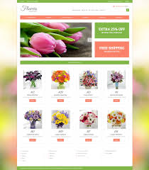 Flower Shop Virtuemartmplatemplate 48632 Ori Business Plan Sample Free