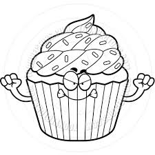 940x940 Cupcake Clipart Black And White