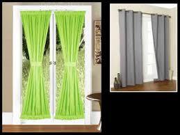 sliding door curtains french door curtains patio door ideas