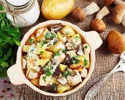 cuisiner les bolets recette fricassée de bolets et pommes de terre à l ail facile