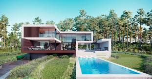 104 Modern Dream House Design Concept Of In Forest By Alexander Zhidkov Architect
