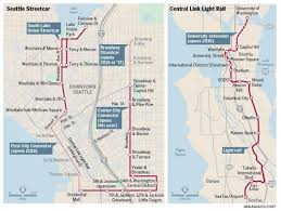 Seattle s Central Link light rail lags behind Portland s MAX but