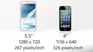 Samsung Galaxy Note 2 vs iPhone 5 갤럭시노Š¸ 2 vs 아이°5