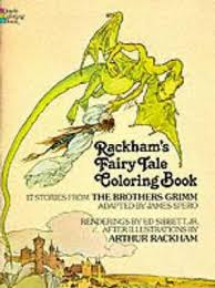 Rackhams Fairy Tale Colouring Book By Arthur Rackham