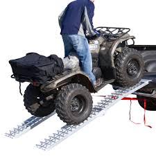Black Widow Folding Dual Runner ATV Ramps 7'5