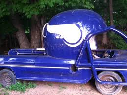 This Vintage Car With A GIANT Vikings Helmet Is Only $4K - SBNation.com
