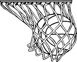 Basketball Net Vector Clipart Gallery Art