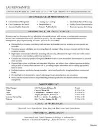 Human Resources Assistant Resume Awesome Example Samples Of