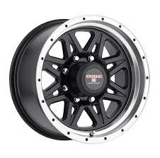 100 8 Lug Truck Wheels Level Strike Rims 1x9 X65 X1651 Machine Black 0
