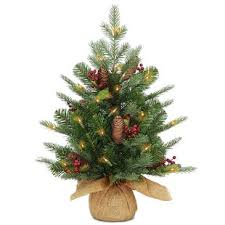 Nordic 2 Spruce Christmas Tree With Clear Lights