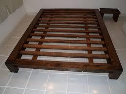 king size platform bed frame image of king size platform bed with