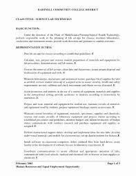 Optical Lab Technician Resume Best Laboratory Tech Examples Awesome Medical