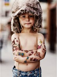 Minirodini Looks Like My Kids When They Get Into The Temporary Tattoo Stash