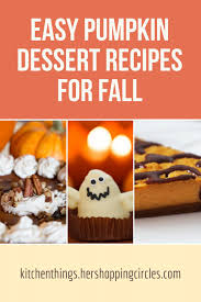 Easy Pumpkin Desserts by Cooking Is Magic