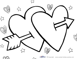 Free Valentine Day Coloring Printables