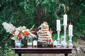 Elegant Organic Fall Wedding Inspiration