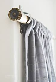 Jcpenney Curtain Rod Finials by Best 25 Homemade Curtain Rods Ideas On Pinterest Cheap Wooden