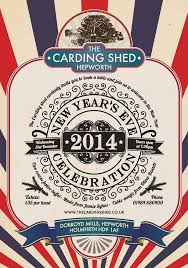 The Shed Book A Table by The Carding Shed New Years Eve Celebration Holmfirth Events