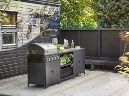 grillskär küche spüleneinheit schrank au edelstahl 86x61 cm