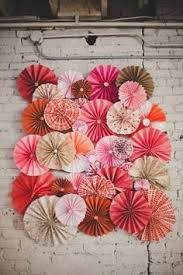 DIY Paper Pinwheel Wall From Our Wedding Handmade With Local Art Stores