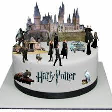 details zu harry potter edible thick wafer paper cake toppers decorations