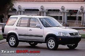 Honda CRV generations in India Team BHP