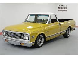100 71 Chevy Truck For Sale 19 Chevrolet C10 For ClassicCarscom CC1178938