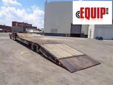 flatbed heavy equipment trailers ebay