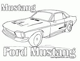 Old Car Coloring Pages Muscle