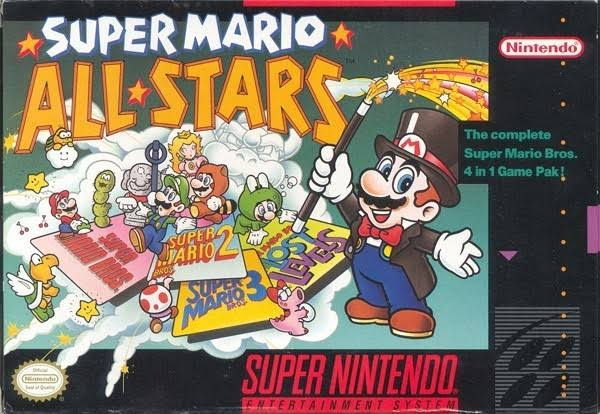 Super Mario All-Stars - Super Nintendo Snes