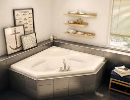 Jetted Bathtubs For Two by Ctf 6060 Corner Or Drop In Bathtub Aker By Maax