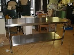 table cuisine inox table de cuisine en inox table de cuisine sous de lustre design 2018