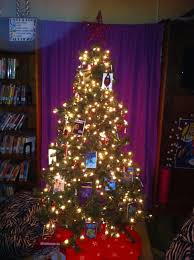 Christmas Tree Books by Obsessed With Decorations Mighty Little Librarian
