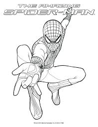 Spiderman Coloring Book Download Pages Preschool Spider Man Picture Color Videos Full Size