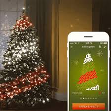 Christmas Tree Amazon Local by Make Your Christmas Tree High Tech Using These App Controlled Lights