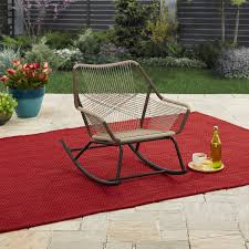Patio & Garden | The Retro Project House | Outdoor Rocking ... Fniture Target Lawn Chairs For Cozy Outdoor Poolside Chaise Lounge Better Homes Gardens Delahey Wood Porch Rocking Chair Mainstays Double Chaise Lounger Stripe Seats 2 25 New Lounge Cushions At Walmart Design Ideas Relax Outside With A Drink In Dazzling Plastic White Patio Table Alinum And Whosale 30 Best Of Stacking Mix Match Sling Inspiring Folding By