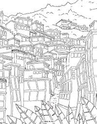 Winding Roads Coloring Page