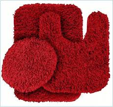 Red And Black Bathroom Rug Set by Sensational Red Bathroom Rug Fresh Decoration Similiar Bright Red