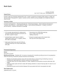 Sales Representative Resume Sample Exclusive Telemarketing Qe E87903
